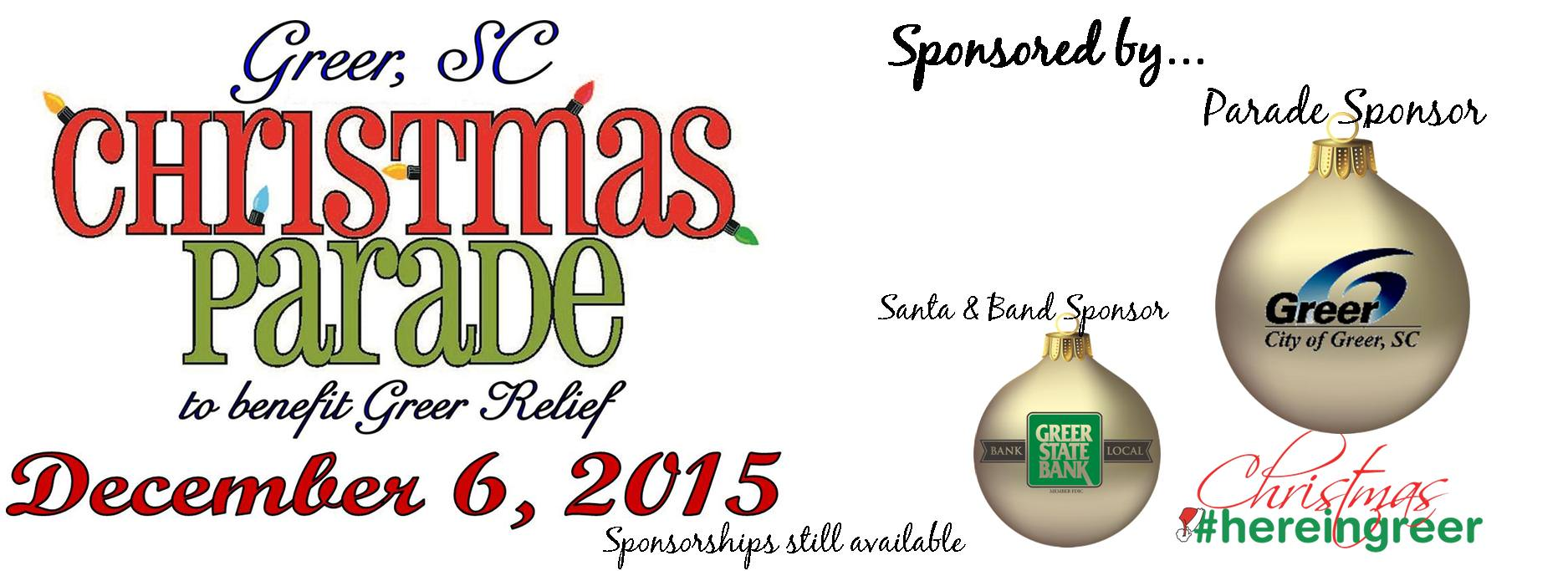 2015 Greer Christmas Parade: An International Christmas \