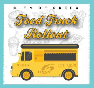Benefit Event: Food Truck Rollout @ Greer City Park