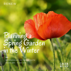 RENEW Planning a Spring Garden in the Winter @ Greer Relief & Resources Agency