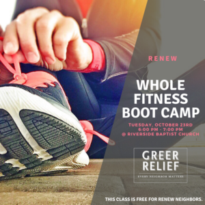 RENEW Whole Fitness Bootcamp @ Riverside Baptist Church