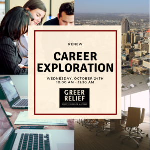 RENEW Career Exploration @ Greer Relief & Resources Agency