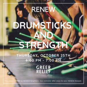 RENEW Drumsticks and Strength @ Riverside Baptist Church