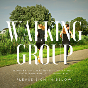 RENEW Walking Group @ Greer Relief & Resources Agency