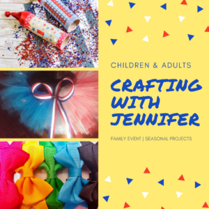 Advertisement for Crafting with Jennifer