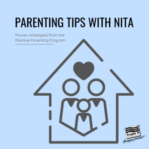Advertisement for Parenting Tips with Nita