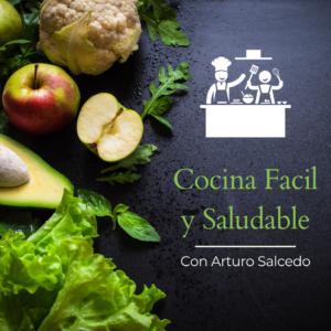 Advertisement for Cocina Facil y Saludable
