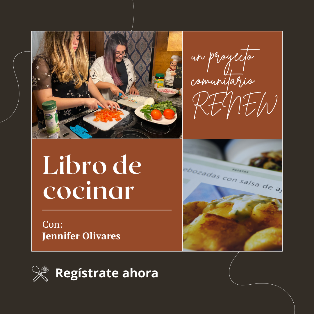 Advertisement for libro de cocinar