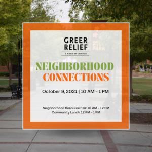Advertisement for Neighborhood Connections